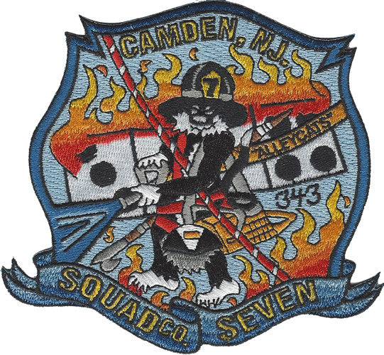 Camden, NJ Squad 7 Patch