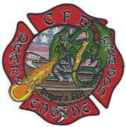 Corona, CA Station 5 Dragon Patch