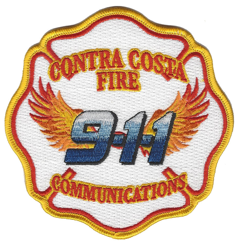 Contra Costa County Fire Communications 9-1-1 Patch