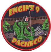 Contra Costa, CA Engine 9 Pacheco Fire Patch