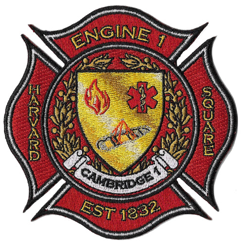 Cambridge, MA Engine 1 Harvard Square Fire Patch