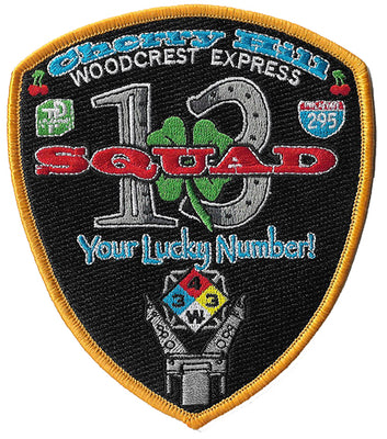 Cherry Hill, NJ Squad 13 Patch