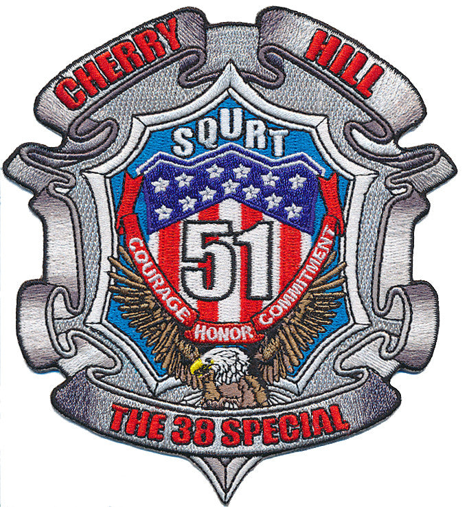 Cherry Hill, NJ SQURT 51 Patch