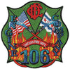 Chicago Engine Company 106 Fire Patch