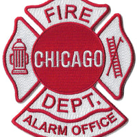 Chicago Fire Alarm Office Dispatcher Communication Fire Patch