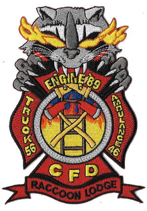 Chicago Engine 89 Truck 56 Amb. 46 Racoon Lodge Fire Patch