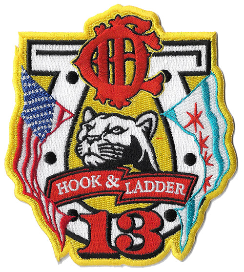 Chicago Hook & Ladder 13 Fire Patch