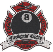"Columbus , Ohio  Station 8 ""Firefightin' Eights"" Patch"