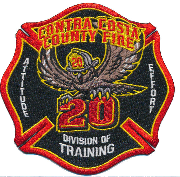 Contra Costa County Fire 20 Training Division Patch
