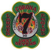 Corona, CA Station 7 Lucky 7's Fire  Patch