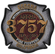 Corona, CA Fire Local 3757 Fire Patch