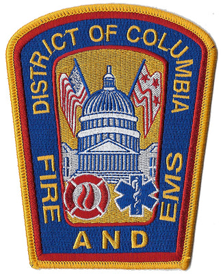 DCFD  District Of Columbia  Fire & EMS Patch