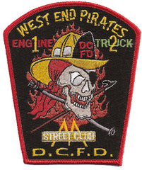 DCFD ENGINE 1 TRUCK 2 WEST END PIRATES