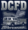 DCFD Engine 7  National's Stadium Capital Building  Navy Tee