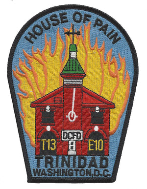 DCFD T13 E10 House of Pain Patch