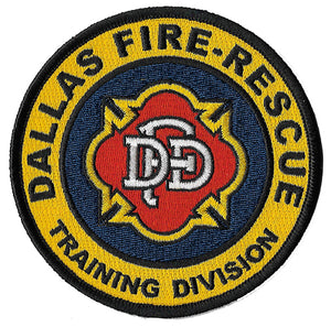Dallas Fire Rescue Training Division Patch
