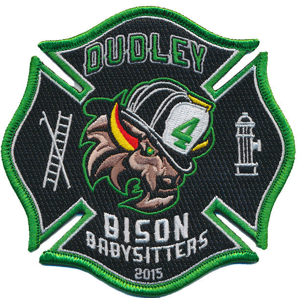 DUDLEY FIRE DEPT. Station 4 BISON BABYSITTERS FIRE PATCH