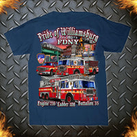 "FDNY E216 L108 ""Pride of Williamsburg"" Small/Large/3XL Only"