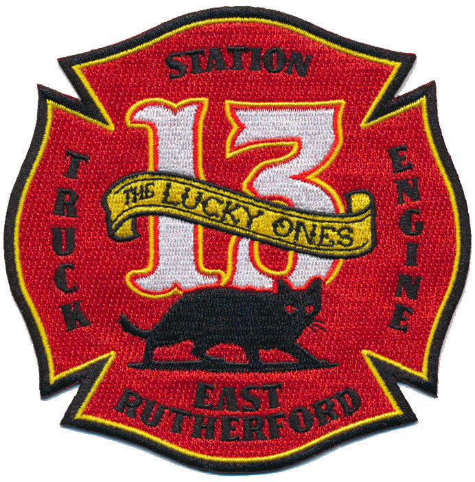 EAST RUTHERFORD STATION  13  FIRE PATCH