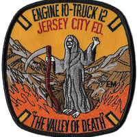 Jersey City Engine 10 Ladder 12 Gold Patch