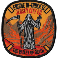 Jersey City, NJ Engine 10 Truck 12 NEW REAPER DESIGN Patch