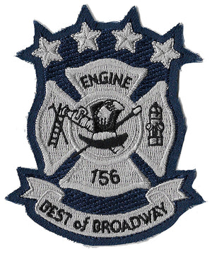 New York City Engine 156  Vintage Patch