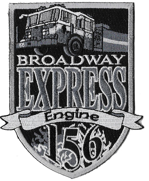 New York City Engine 156 Broadway Express Subdued NEW Fire Patch