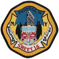 New York City Engine 14 Sweet 14 Fire Patch