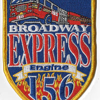 New York City Engine 156 Broadway Express Patch
