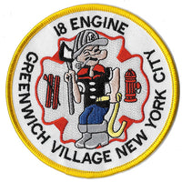 New York City Engine 18 Vintage Fire Patch