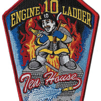 New York City Engine 10 Ladder 10 Ten House Fire Patch