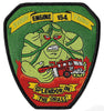 New York City Engine 154 Swamp Thing Patch