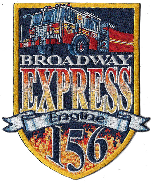 New York City Engine 156 New Design Patch