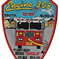 New York City E-308 Patch