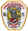 New York City Engine 33 Ladder 9 Great Jones St. Patch