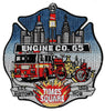 New York City Engine 65 Times Square Midtown Mob Patch