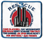 New York City Rescue 3  Memorial 9-11 Fire Patch
