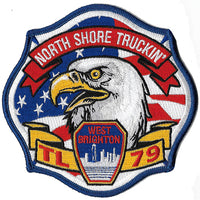 New York City TL-79 Retro North Shore Truckin' Patch