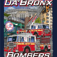 "New York City ""Da Bronx Bombers"" Navy Tee"