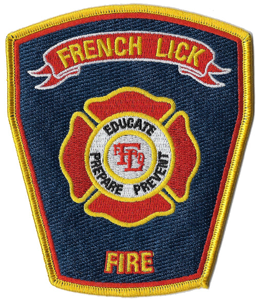 French Lick, IN Fire Patch