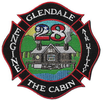 Glendale, CA Station 28 Patch