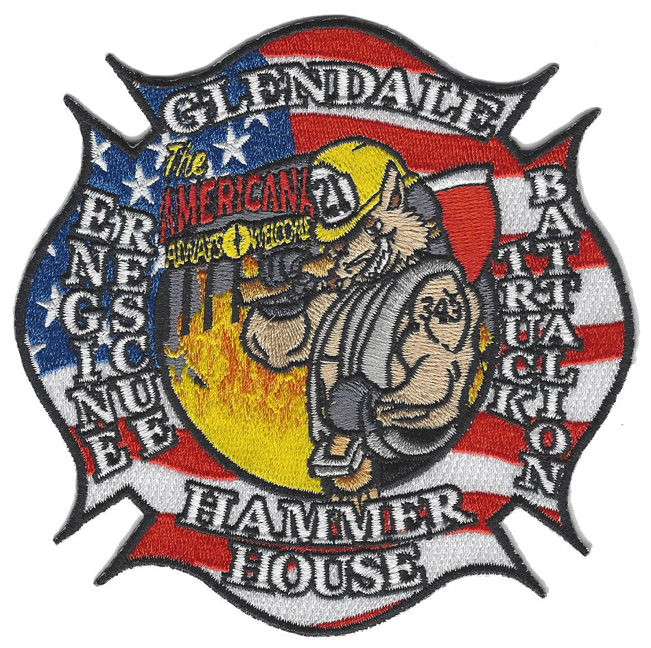 GLENDALE, CA. FIRE DEPT. ENGINE 21 PATCH