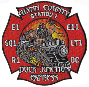 Glynn County, GA Station 1 Patch