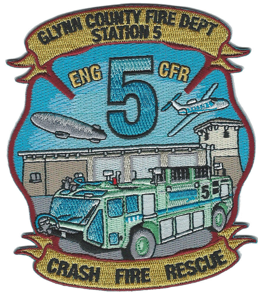Glynn County, GA Station 5 Crash Rescue Patch