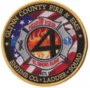 Glynn County, GA Station 4 Patch