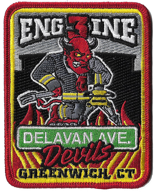 Greenwich, CT Engine 3 Delavan Ave. Devils Fire Patch