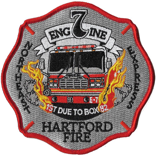 Hartford, CT Engine 7 Northeast Express Fire Patch