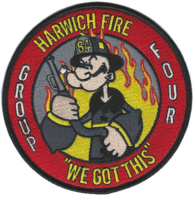 Harwich, CT  Engine 64  Popeye  Patch