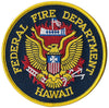 Hawaii Federal Fire Dept. Patch