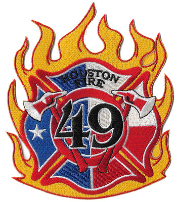 Houston Engine 49 Fire Patch